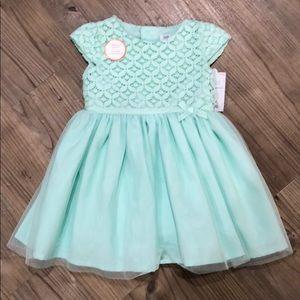NWT! Mint Cap-Sleeve Dress